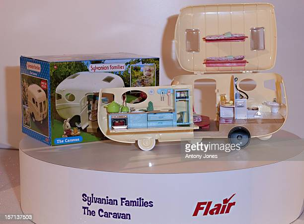 'Sylvanian Families Caravan ' At The Dream Toys Show In London EnglandThe Toy Retailers Association Annual 'Dream Toys' ListIs The Industries...