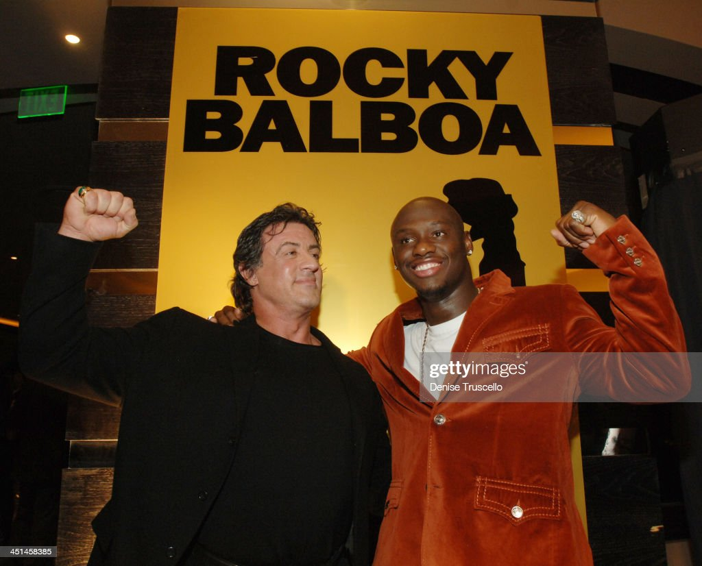 Rocky Balboa Las Vegas Premiere - Red Carpet Arrivals at The Aladdin/Planet Hollywood Hotel and Casino Resort : News Photo