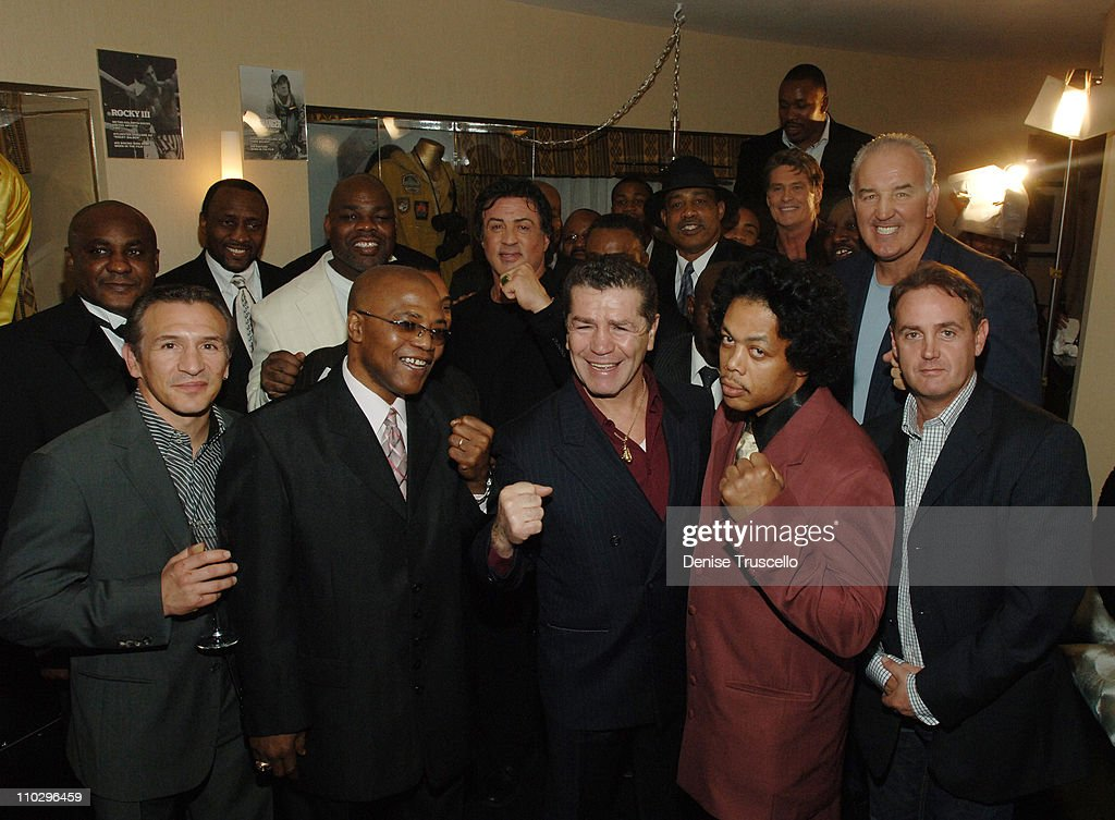 "Boxing Legends Celebrate The Release of ""Rocky Balboa"" at The Aladdin/Planet"