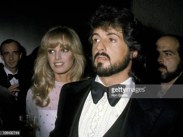 Sylvester Stallone And Susan Anton during Andy Warhol's Art Opening November 20 1979 at Whitney Museum in New York City New York United States