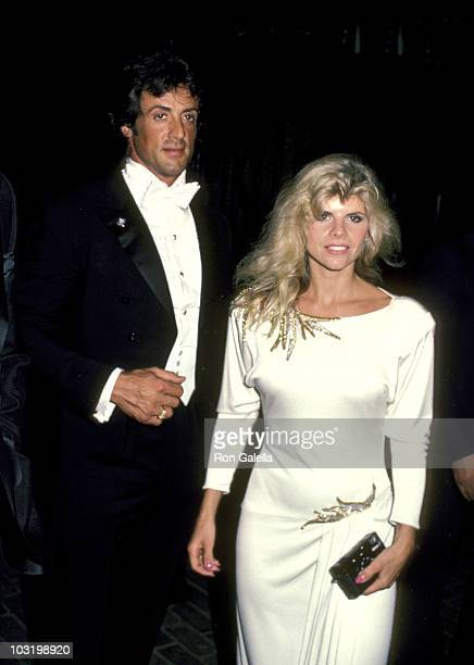 Sylvester Stallone And Wife Sasha Czack Stallone