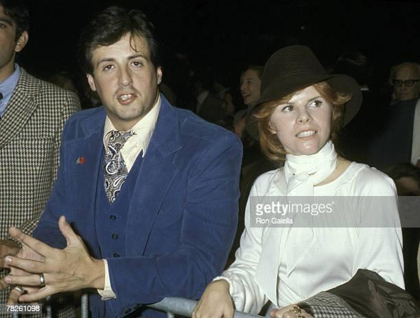 Sylvester Stallone And Wife Sasha Czack Stallone