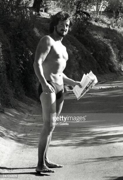 Sylvester Stallone at the Sylvester Stallone's Malibu Home in Malibu California
