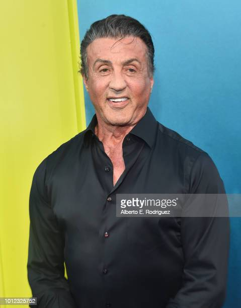 Sylvester Stallone attends the premiere of Warner Bros Pictures And Gravity Pictures' 'The Meg' at TCL Chinese Theatre IMAX on August 6 2018 in...