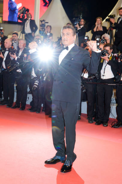"FRA: ""Rambo - Last Blood"" Red Carpet - The 72nd Annual Cannes Film Festival"