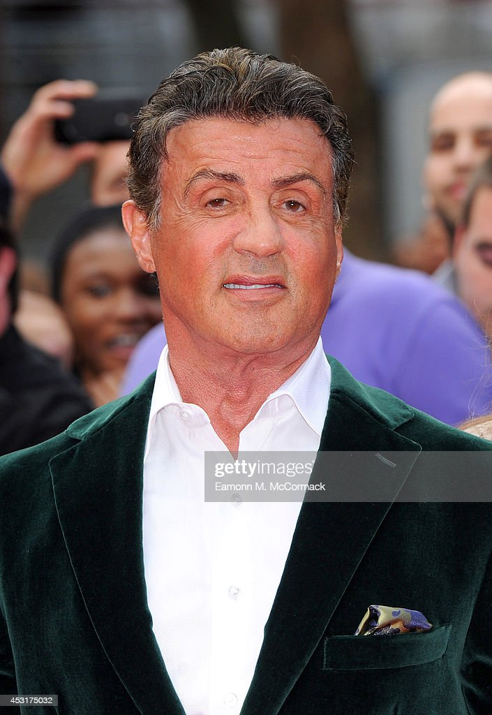 Sylvester Stallone attends the World Premiere of 'The Expendables 3' at Odeon Leicester Square on August 4, 2014 in London, England.