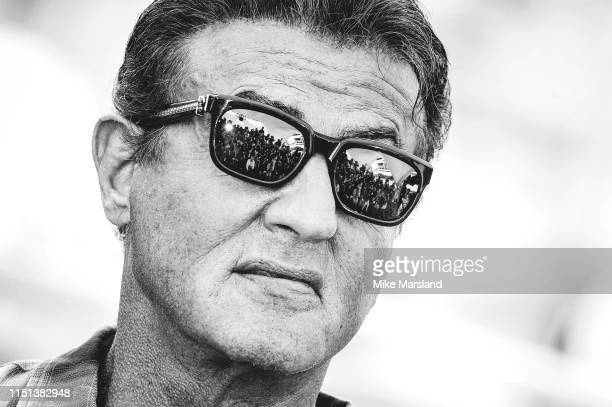 Sylvester Stallone attends thephotocall for Sylvester Stallone Rambo V Last Blood during the 72nd annual Cannes Film Festival on May 24 2019 in...