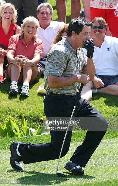 Sylvester Stallone during 5th Annual Michael Douglas And Friends Celebrity Golf Tournament Presented By Lexus and Izod To Benefit The Motion Picture...