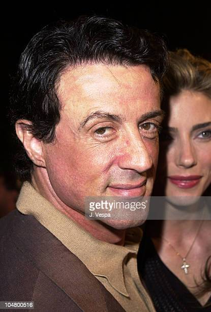 Sylvester Stallone during Exit Wounds Premiere at Mann Village Theater in Westwood California United States