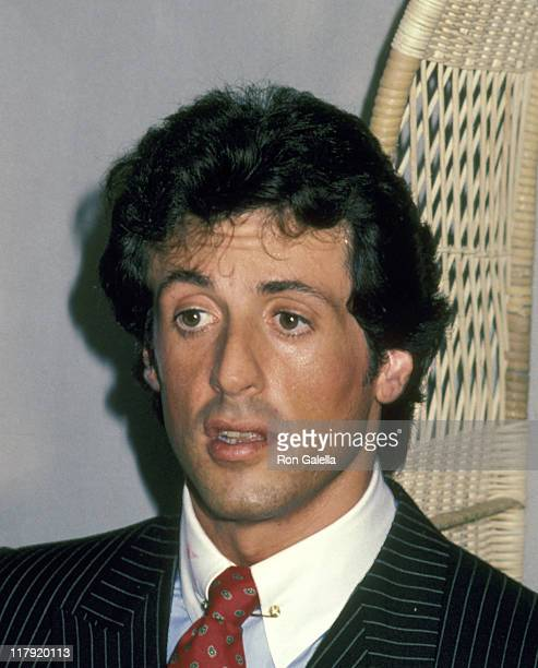 Sylvester Stallone during Lee Canalito Vs Curtis Whitner Boxing Match at Tropicana Hotel Casino in Atlantic City New Jersey United States