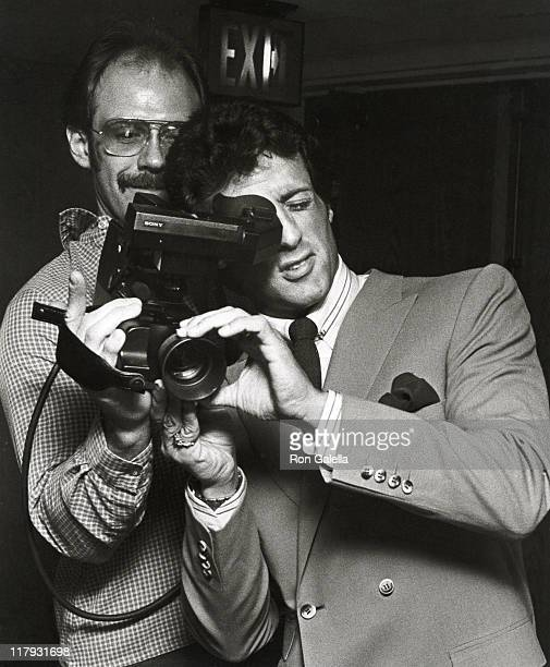 Sylvester Stallone during Lee Canalito Vs Curtis Whitner Press Conference and WeighIn July 6 1982 at Tropicana Hotel Casino in Atlantic City New...
