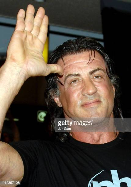 Sylvester Stallone during Sylvester Stallone Arrives in Tokyo to Promote Rocky Balboa March 24 2007 at Narita International Airport in Narita Japan