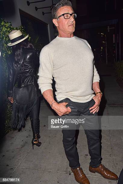 Sylvester Stallone is seen on May 27 2016 in Los Angeles California