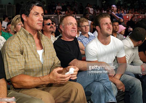 Sylvester Stallone James Caan and Scott Caan *EXCLUSIVE*
