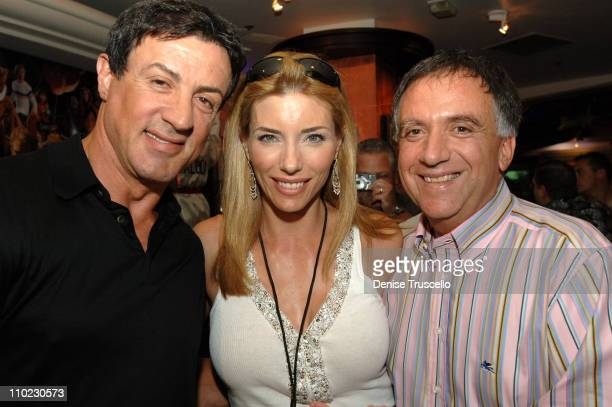 Sylvester Stallone Jennifer Flavin and Robert Earl