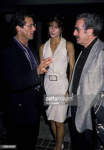 Sylvester Stallone, Jennifer Flavin and Tom Pollack