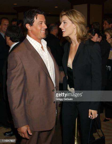 Sylvester Stallone Jennifer Flavin during 29th Annual Dinner Of Champions Honoring Bob and Harvey Weinstein at Century Plaza Hotel in Los Angeles...