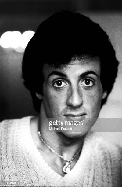 Sylvester Stallone portrait London 1982