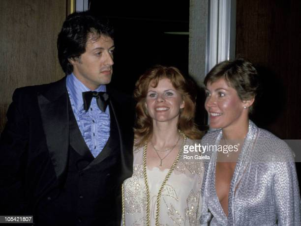 Sylvester Stallone, Wife Sasha Czack Stallone, And Helen Reddy