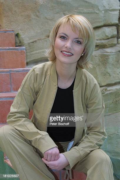 """Sylvia Agnes Muc, Wellness für Körper und Geist, Köln, """"Mediterana"""", , im Schwimm-Bereich, Nass-Zone, , Schauspielerin, Prominente, Promis,"""