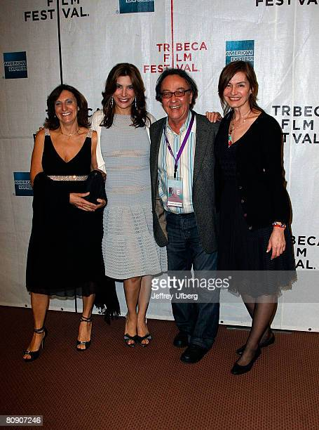 Sylvia Bizio Actress Jo Champa Tribeca Director/Actor Peter Scarlet and Deborah Young attend the Premiere of 'Toby Dammit' at the 7th Annual Tribeca...