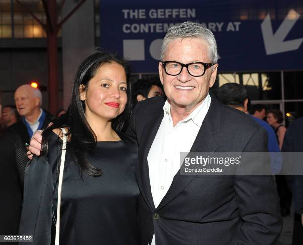 Sylvia Chivaratanond and Christopher Walker attend MOCA's Leadership Circle and Members' Opening of 'Carl Andre Sculpture as Place 19582010' and...