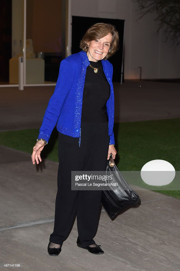 Sylvia Earle arrives to attend 'Prince Albert II of Monaco's Foundation' Award Ceremony on October 12, 2014 in Palm Springs, California.