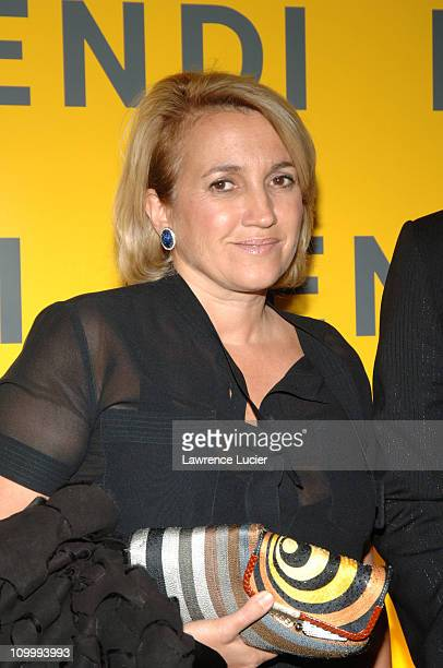 Sylvia Fendi during Fendi Flagship Store Opening and Announcement of The Fendi Rome Prize Fellowship at The American Academy in Rome at Fendi...