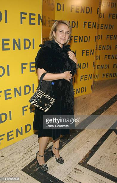 "Sylvia Fendi during Fendi Presents ""The All Hollows Eve Party"" at 25 Broadway in New York City, New York, United States."