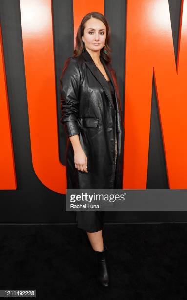 "Sylvia Grace Crim attends the premiere of Universal Pictures' ""The Hunt"" at ArcLight Hollywood on March 09, 2020 in Hollywood, California."