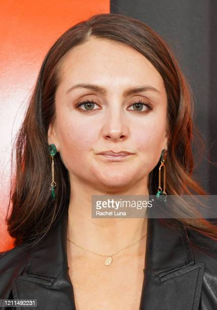 Sylvia Grace Crim attends the premiere of Universal Pictures' The Hunt at ArcLight Hollywood on March 09 2020 in Hollywood California