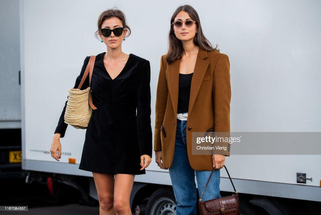 Street Style - Day 3 - Copenhagen Fashion Week Spring/Summer 2020 : Nieuwsfoto's
