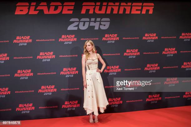 Sylvia Hoeks attends 'Blade Runner 2049' photocall at Arts Hotel on June 19 2017 in Barcelona Spain