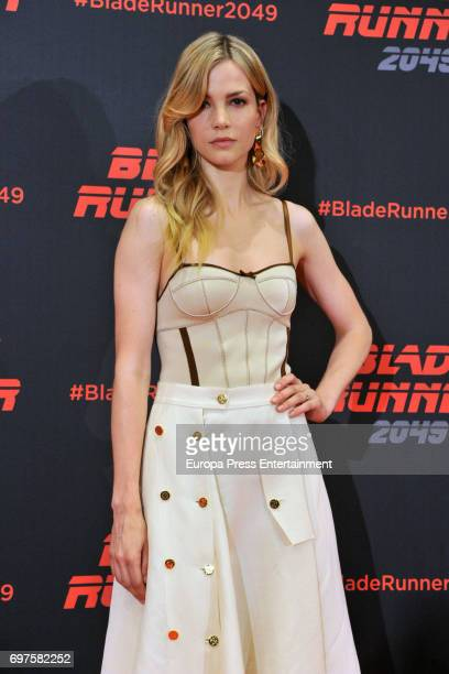 Sylvia Hoeks attends 'Blade Runner 2049' photocall during at Arts Hotel on June 19 2017 in Barcelona Spain
