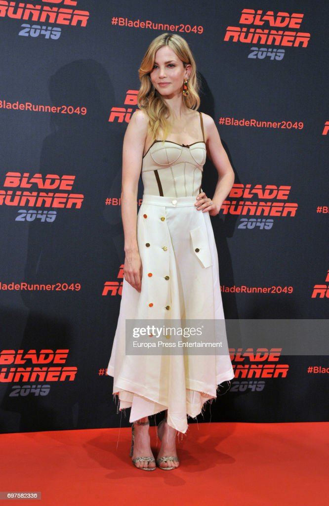 Sylvia Hoeks attends 'Blade Runner 2049' photocall during at Arts Hotel on June 19, 2017 in Barcelona, Spain.