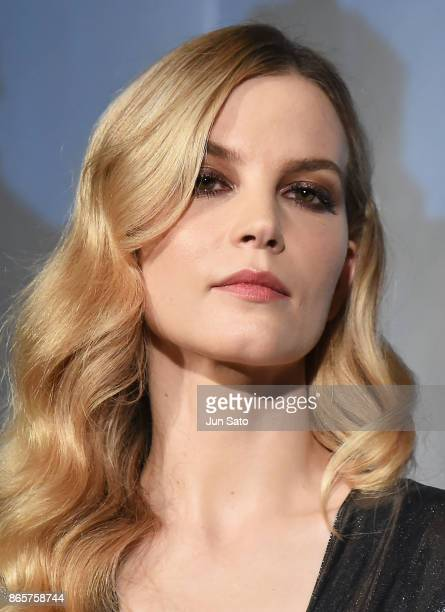 Sylvia Hoeks attends the 'Blade Runner 2049' premier at Roppongi Hills on October 24 2017 in Tokyo Japan