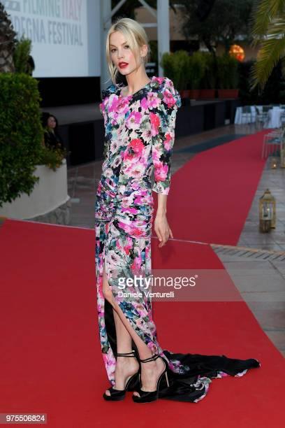 Sylvia Hoeks attends the 'Filming Italy Sardegna Festival' Dinner at Forte Village Resort on June 15 2018 in Santa Margherita di Pula Cagliari Italy