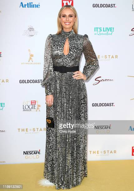 Sylvia Jeffreys arrives at the 61st Annual TV WEEK Logie Awards at The Star Gold Coast on June 30 2019 on the Gold Coast Australia
