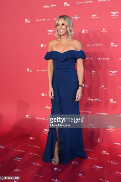 Sylvia Jeffreys attends the inaugural Museum of Applied Arts and Sciences Centre for Fashion Bal at Powerhouse Museum on February 1 2018 in Sydney...