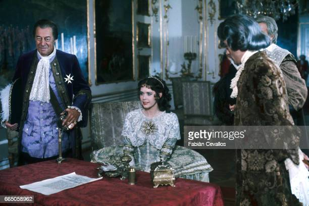 Sylvia Kristel and Rex Harrison Sylvia Kristel and Ian McShane appear in the 1979 British film The Fifth Musketeer The movie by director Ken Annakin...