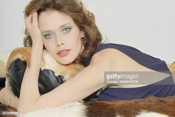 Sylvia Kristel at Home