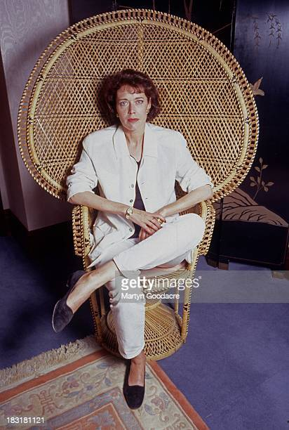 Sylvia Kristel best known for her role in the Emmanuel films , United Kingdom, 1996.