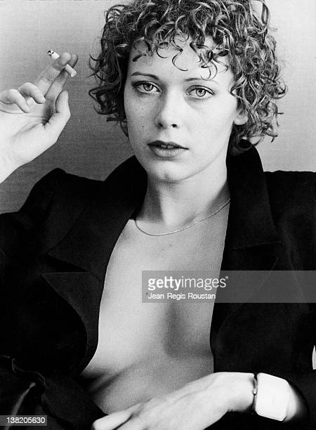 Sylvia Kristel Dutch actress on December 20 1974
