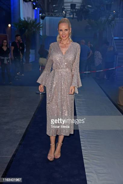 Sylvia Leifheit attends the Promi Big Brother final at MMC Studios on August 23 2019 in Cologne Germany