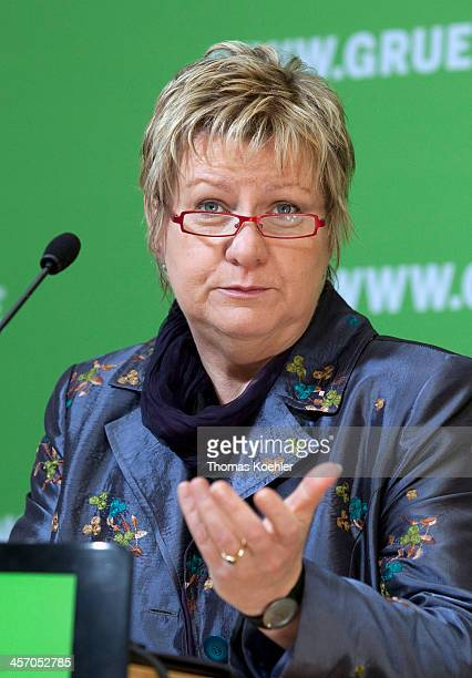 Sylvia Loehrmannn deputy Ministerpresident and secretary of education of North RhineWestphalia on May 14 in Berlin Germany Photo by Thomas...