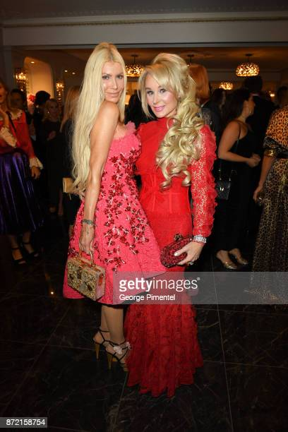Sylvia Mantella and Co Chair Suzanne Rogers attend the HBC Foundation presentation of Haute Affair in support of the Dotsa Bitove Wellness Academy...