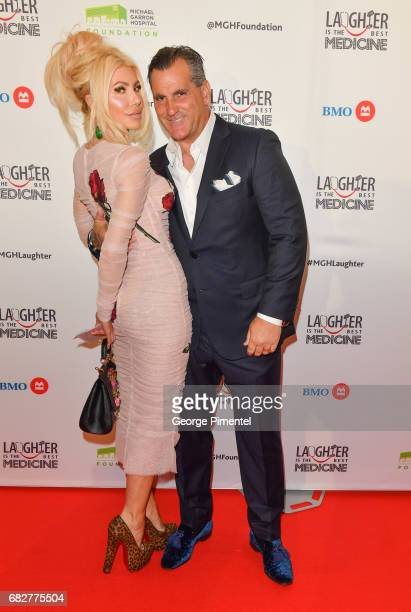 Sylvia Mantella and Robert Mantella attend Laughter Is The Best Medicine III Gala at Beanfield Centre Exhibition Place on May 13 2017 in Toronto...