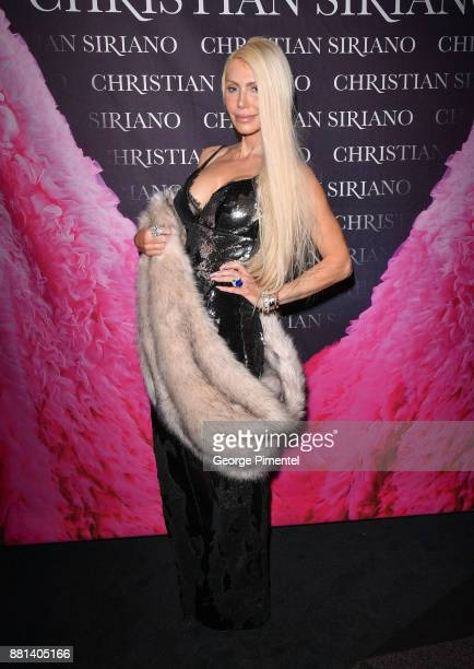 Sylvia Mantella attends Christian Siriano Canadian Book Launch held at Bisha Hotel Residences on November 28 2017 in Toronto Canada