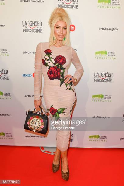 Sylvia Mantella attends Laughter Is The Best Medicine III Gala at Beanfield Centre Exhibition Place on May 13 2017 in Toronto Canada