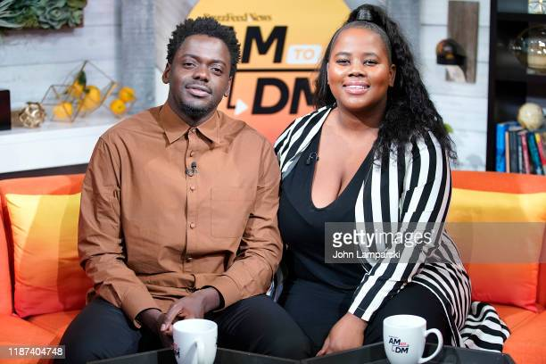 "Sylvia Obell interviews Daniel Kaluuya at BuzzFeed's ""AM To DM on November 13, 2019 in New York City."